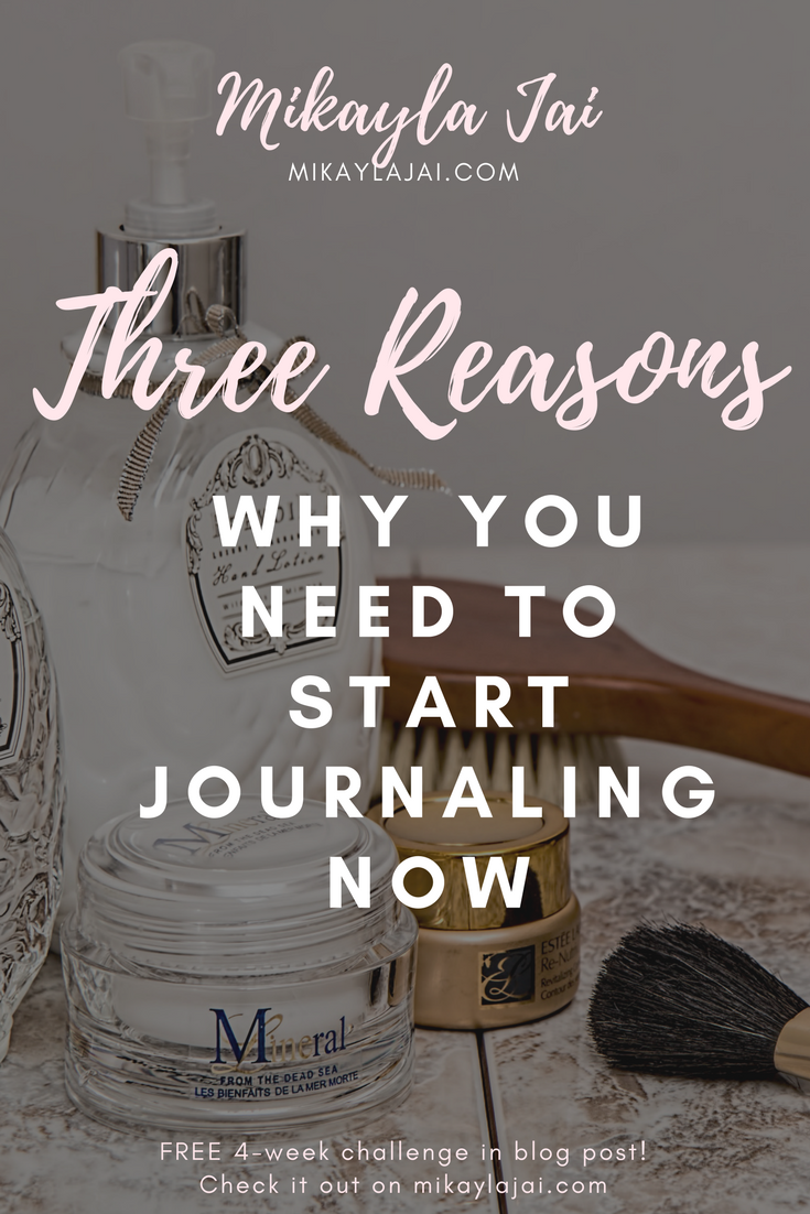 why you should be journaling for self help and for self development