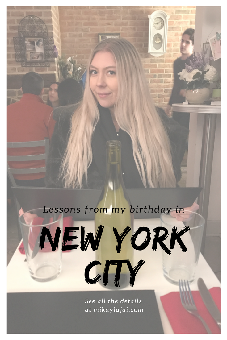 New York city, birthday